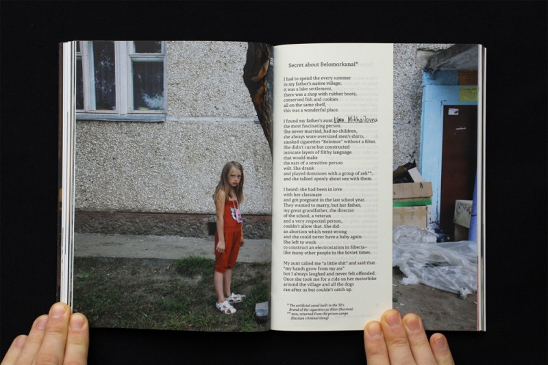 © Irina Popova, 16x22 cm, photo pages + 64 text, published by Dostoevsky Publishing, designed by Anton Lepashov, 100 + 15 special (red) english edition
