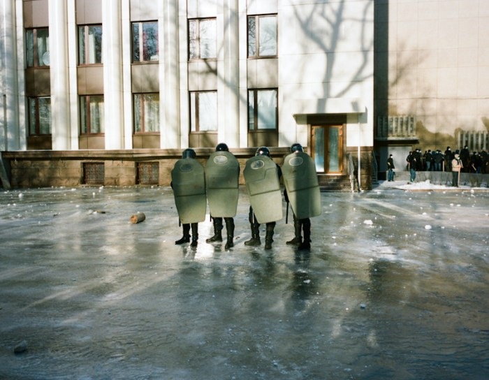 "© Yulia Krivich ""Riot Police"", from the series ""Presentiment"" series"