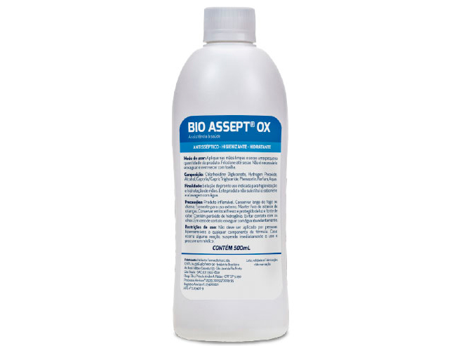 Refil Bio Assept Ox 500 ml
