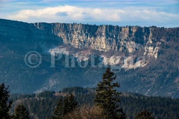 Les falaises du Mont d'Or