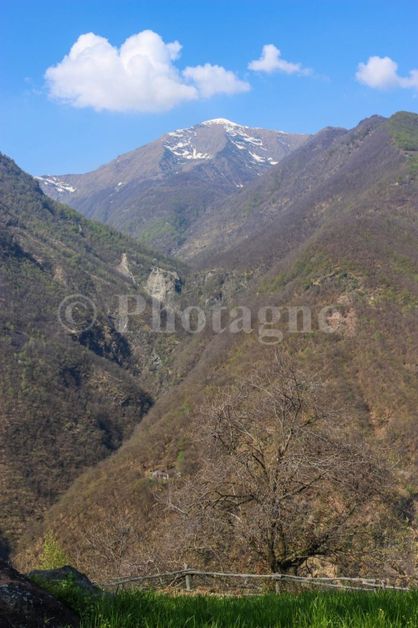 Les hauteurs de Mégolo, la Punta dell'Usciolo
