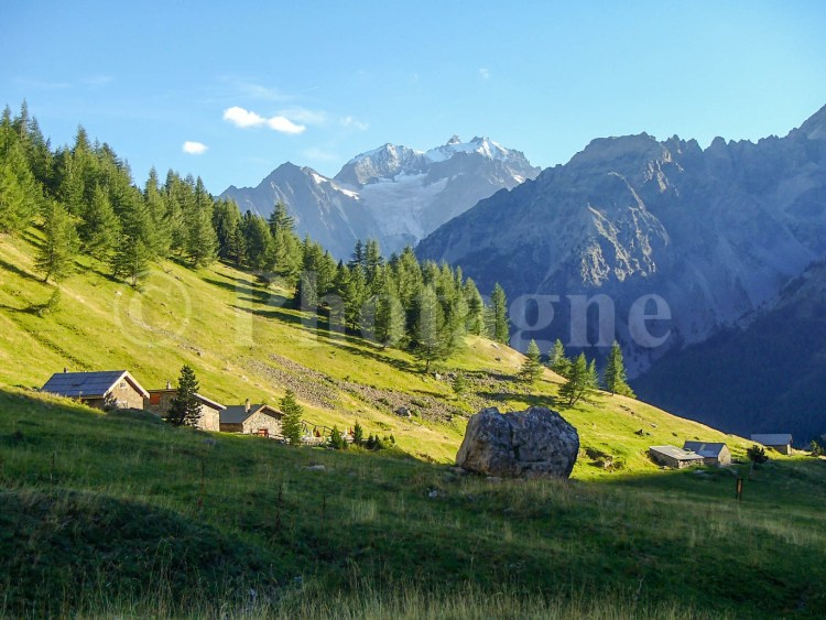 L'Alpe du Lauzet le soir