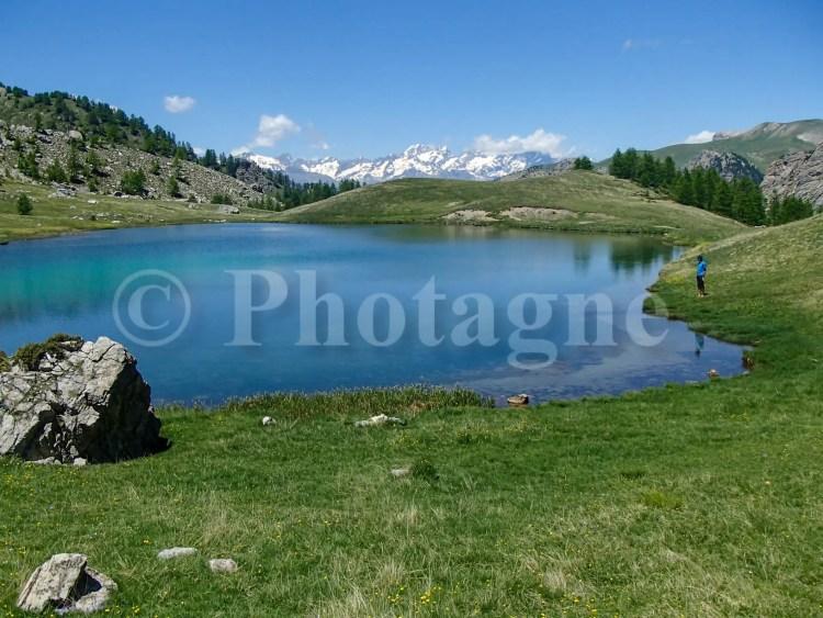 Le lac du Lauzet, un endroit de bivouac idéal !
