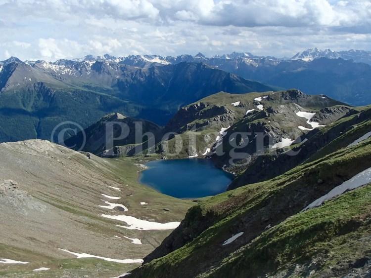 Le lac du Grand Laus, superbe coin de bivouac