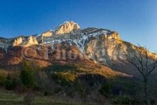 Le sommet de Couard depuis Archail