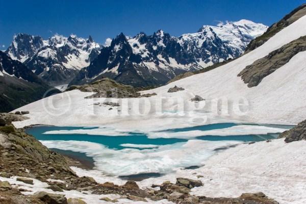 Le lac Blanc porte bien son nom !