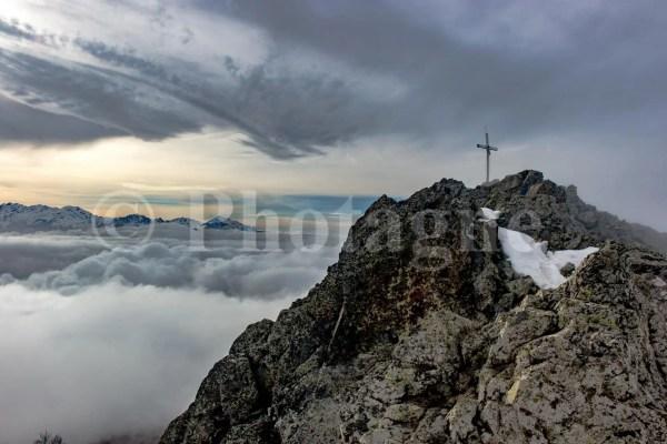 Le sommet du San Petrone