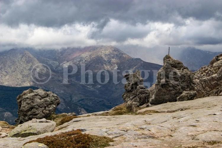 Vue sur le Haute-Corse depuis le point culminant