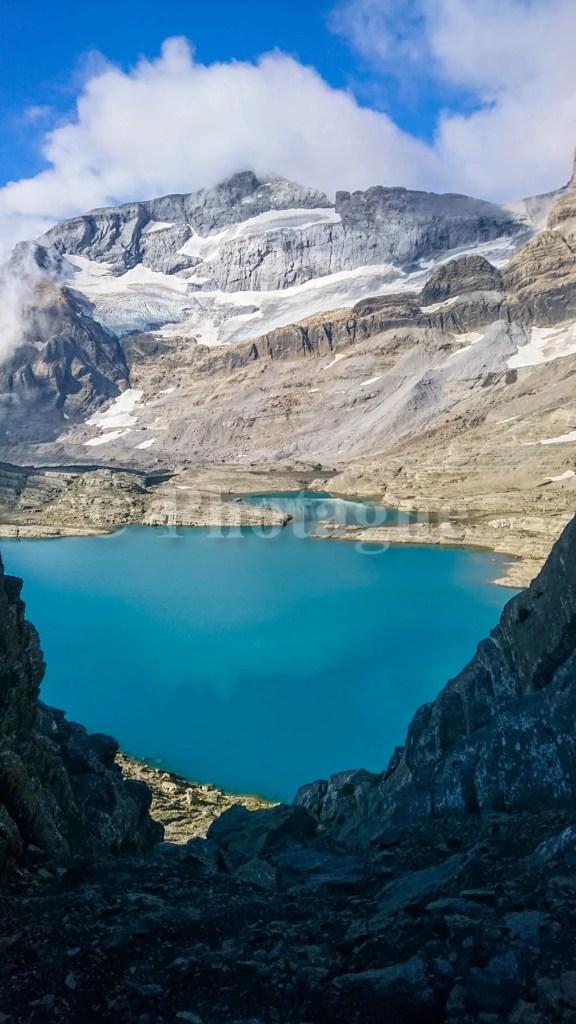 Lac du Marboré et Mont Perdu