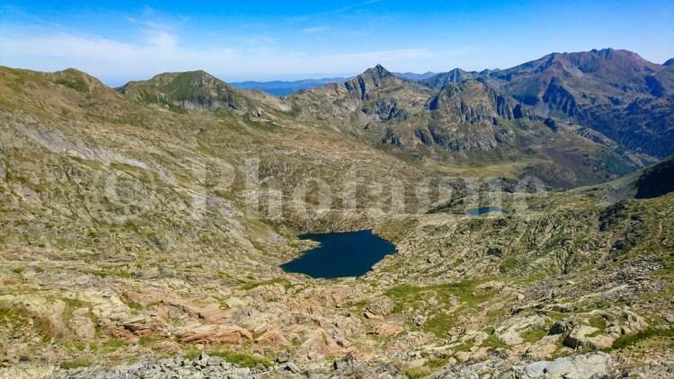 La vallée glaciaire du Mont Rouge, sur la Haute Randonnée Pyrénéenne
