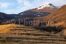 Le Monte Corchia au matin
