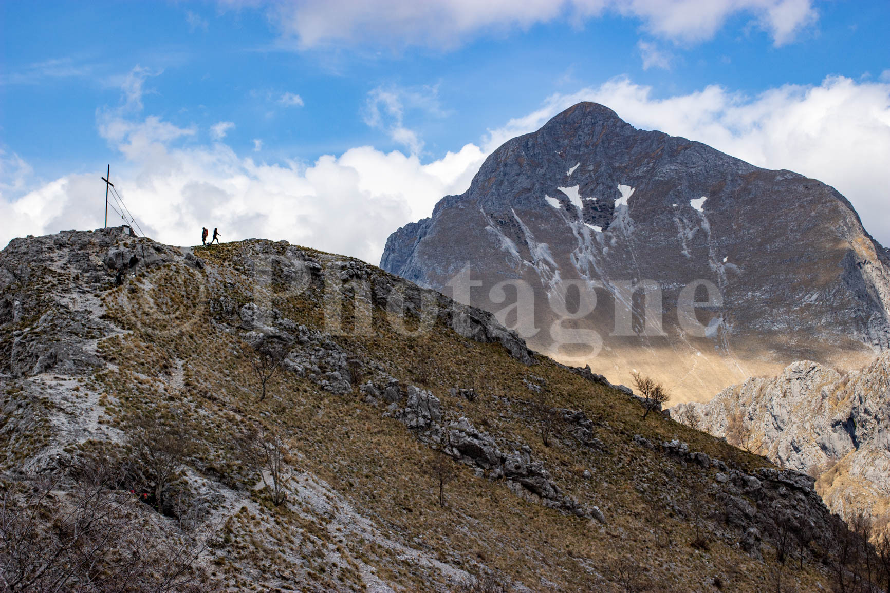 Le Monte Forato Sud et le Pania della Croce