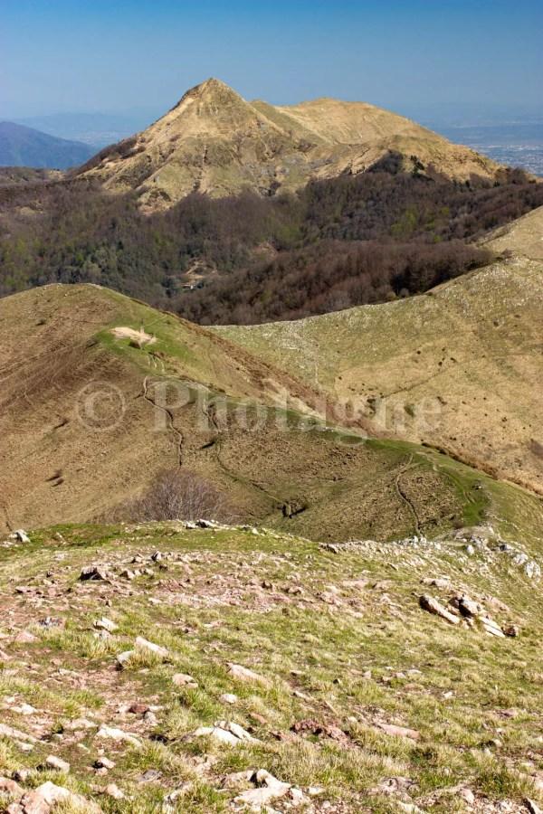 La crête du Matanna et le Monte Piglione