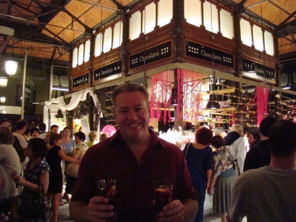 Mercado de San Miguel nightlife