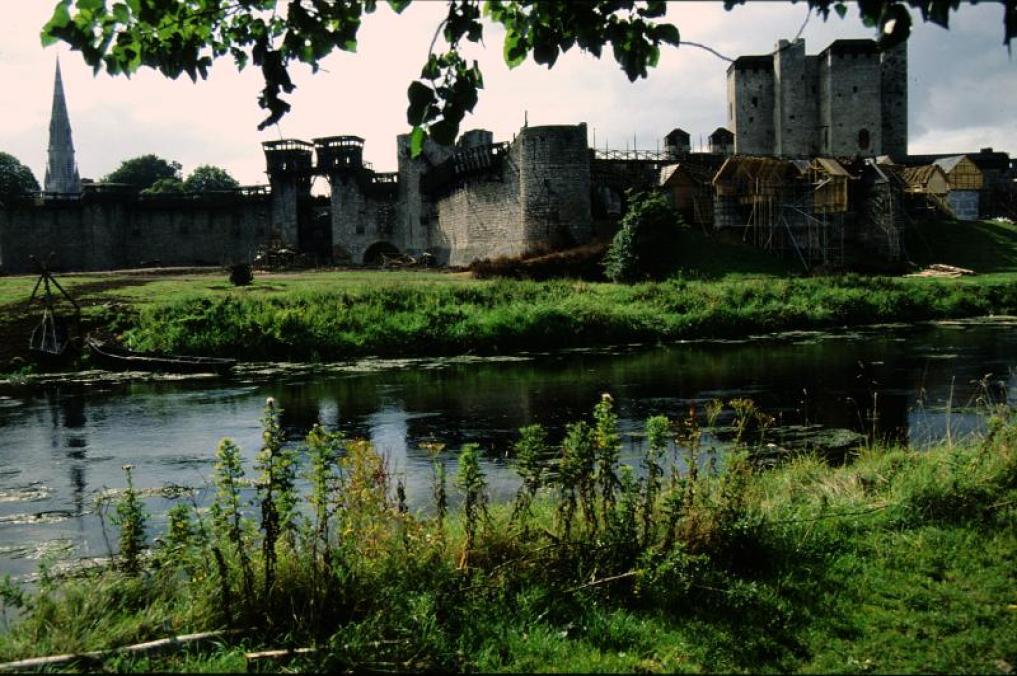 Braveheart set at Trim Castle