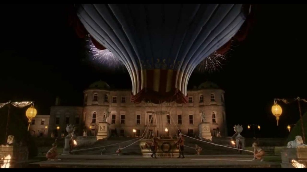 Count of Monte Cristo Balloon scene at Powerscourt