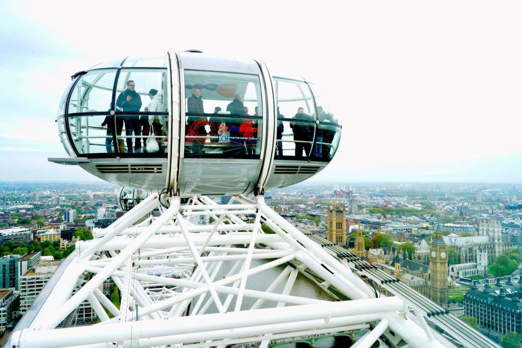 London Eye Pod England