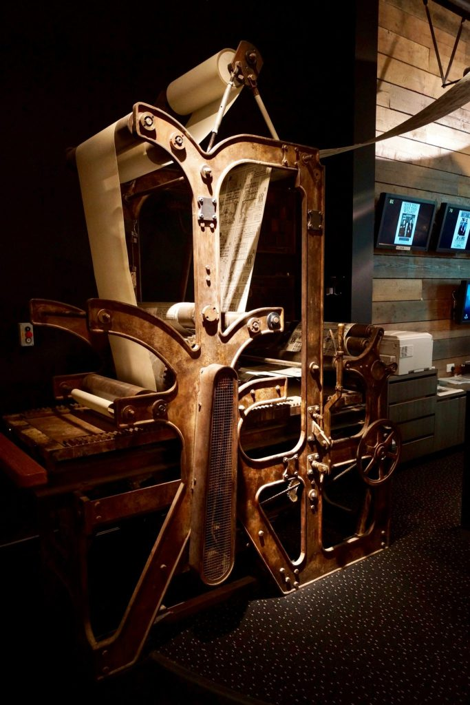 Printing Press from Harry Potter