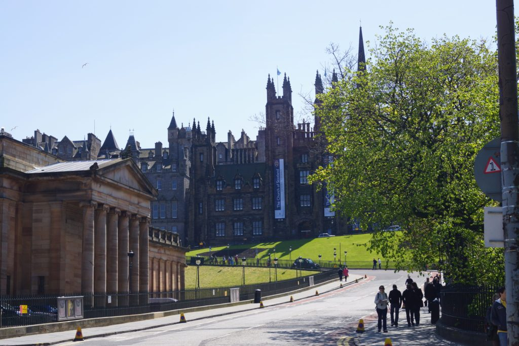Pathway to Royal Mile