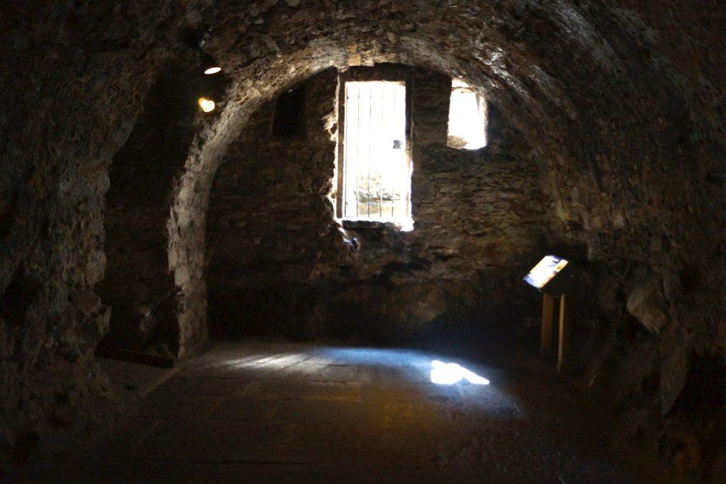 Underground at Edinburgh Castle.