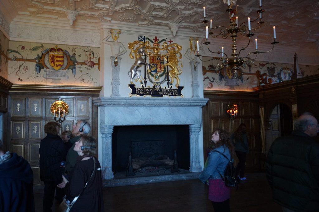Interior Residence of Edinburgh Castle