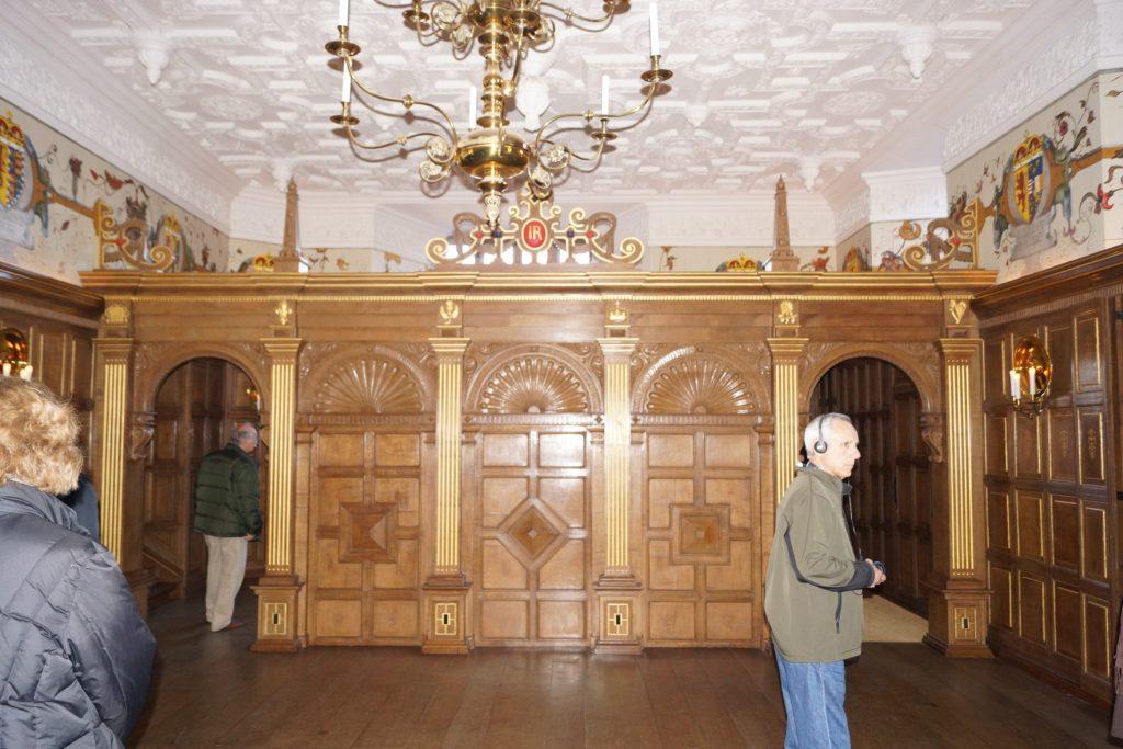 Interior Residence inside Edinburgh Castle