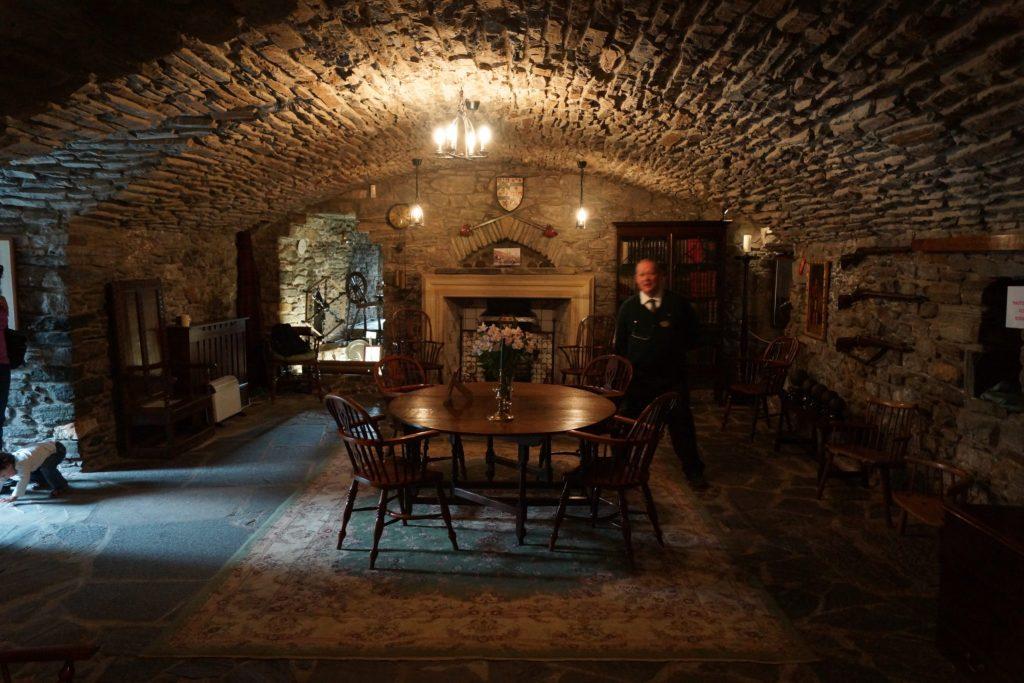 Interior of Eilean Donan Castle