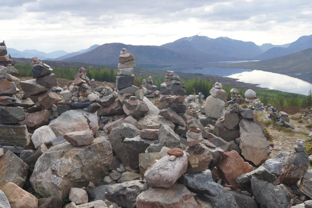 Cairns in the Highlands of Scotland