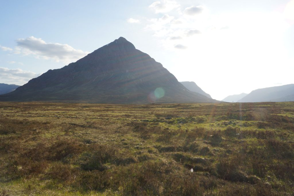 Glencoe Battle scene location from Highlander