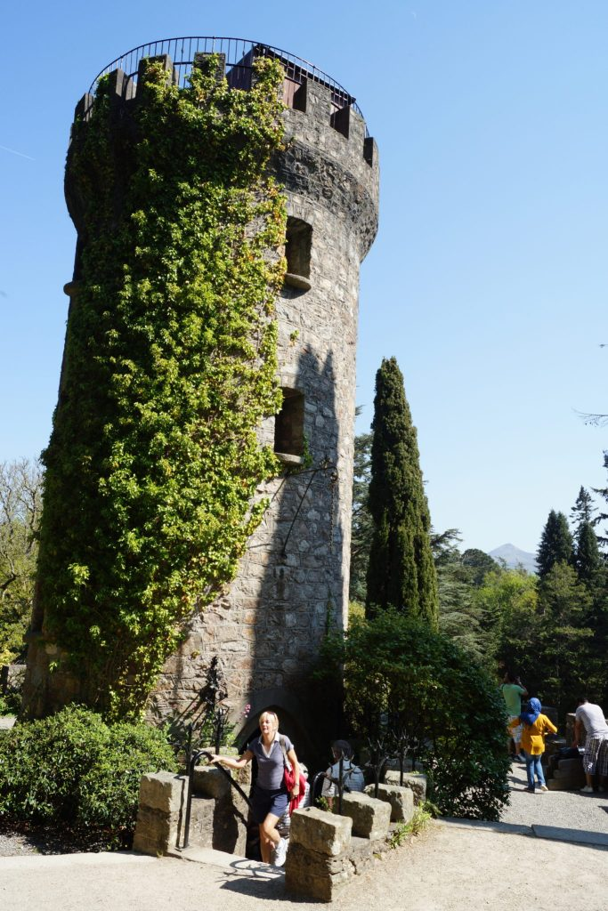 Pepperpot Tower entrance at Powerscourt Estate