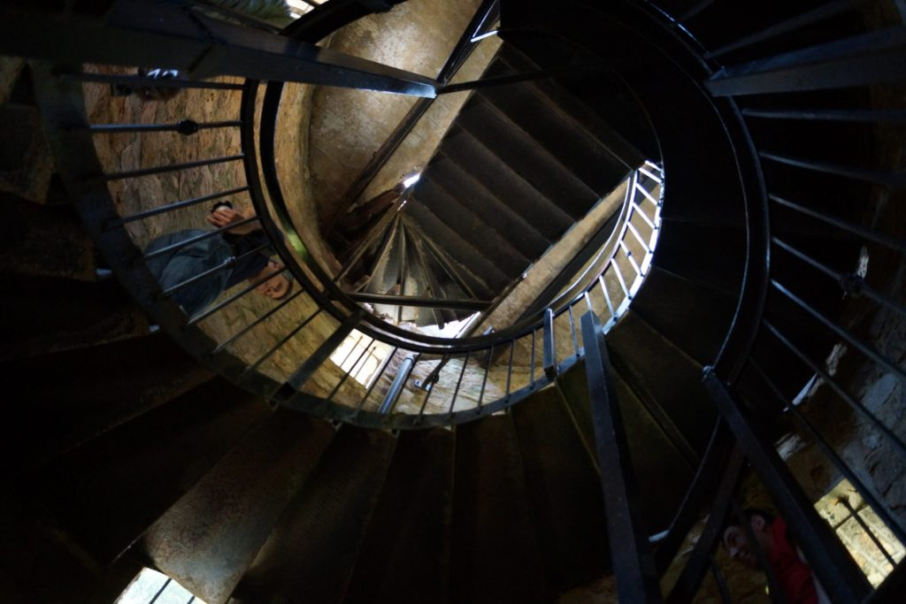 Stairwell in Pepperpot Tower at Powerscourt