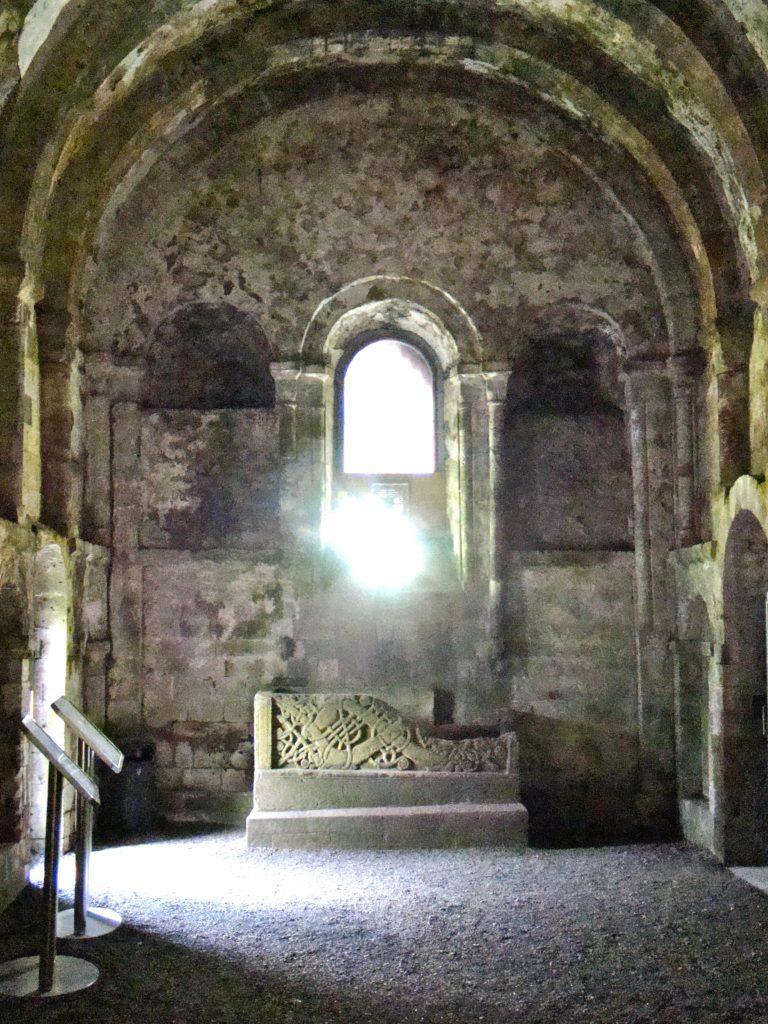 Interior of Cormac's Chapel at Rock of Cashel