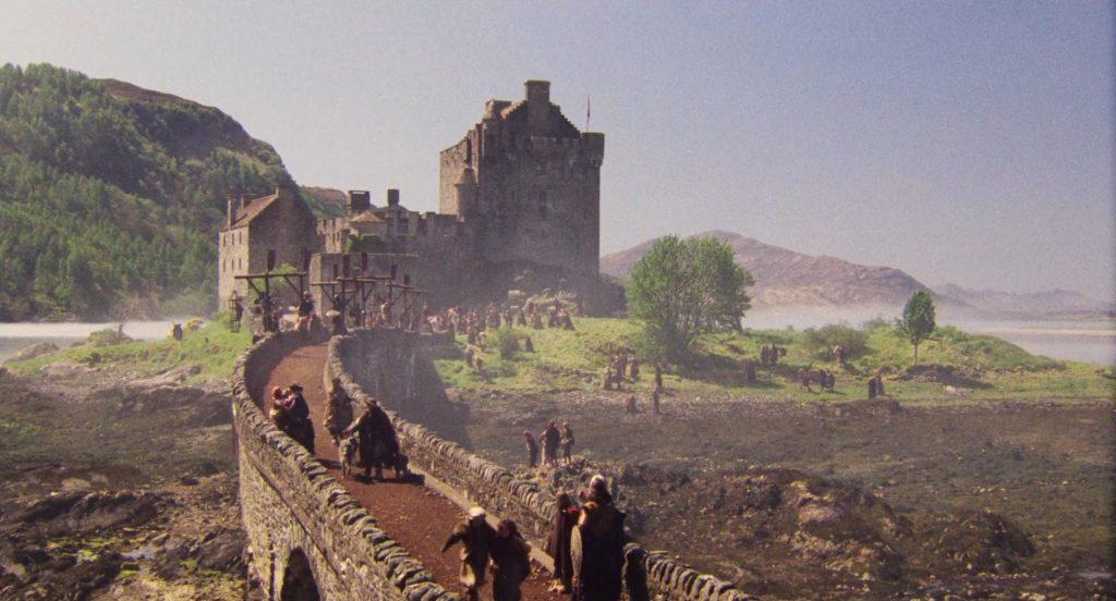 Highlander movie Eilean Donan Castle