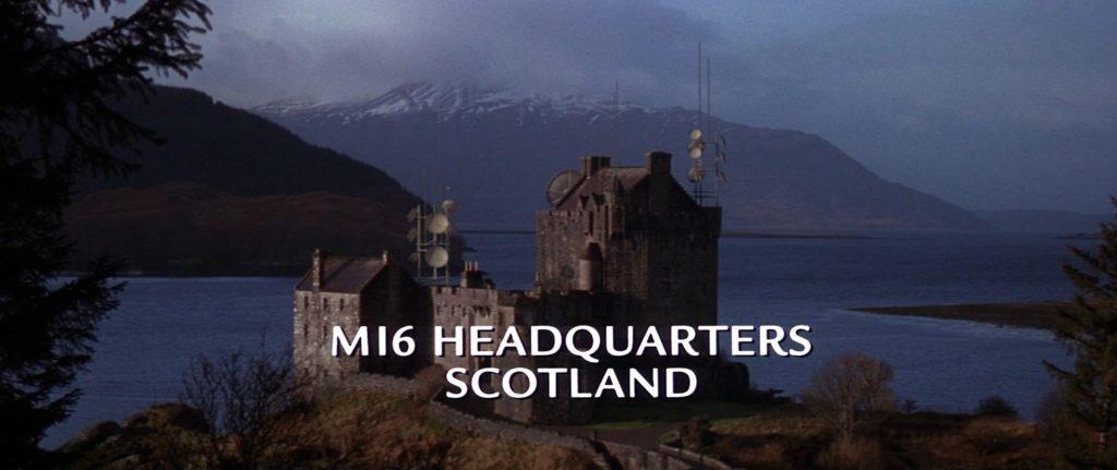 James Bond The World Is Not Enough Eilean Donan Castle
