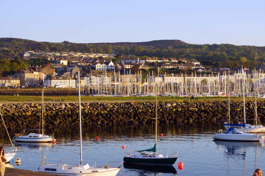 Howth Harbor and Pier Ireland