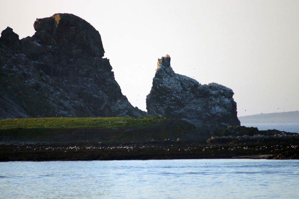 East side of Ireland's Eye Island Howth