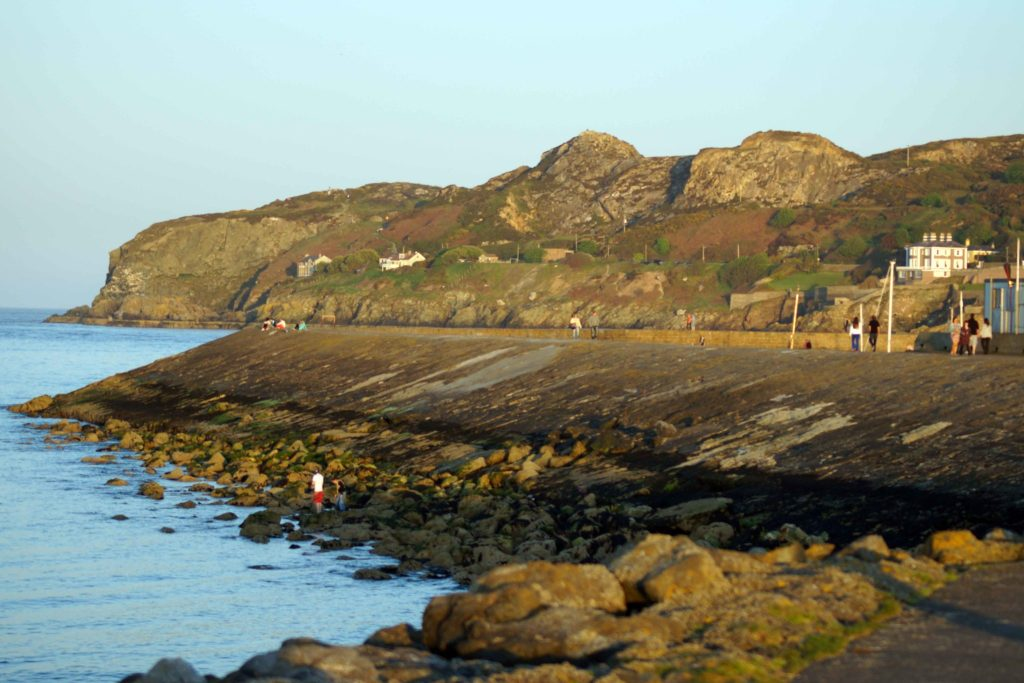 Balscadden Bay Beach area in Howth
