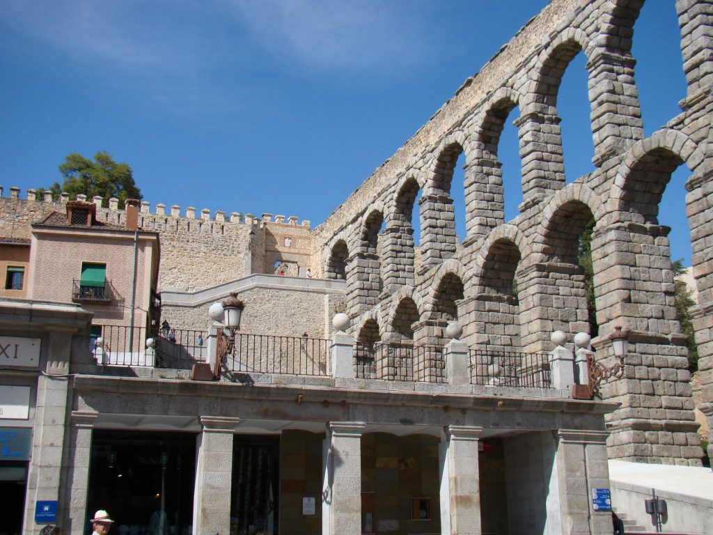 Aqueduct of Segovia, Spain