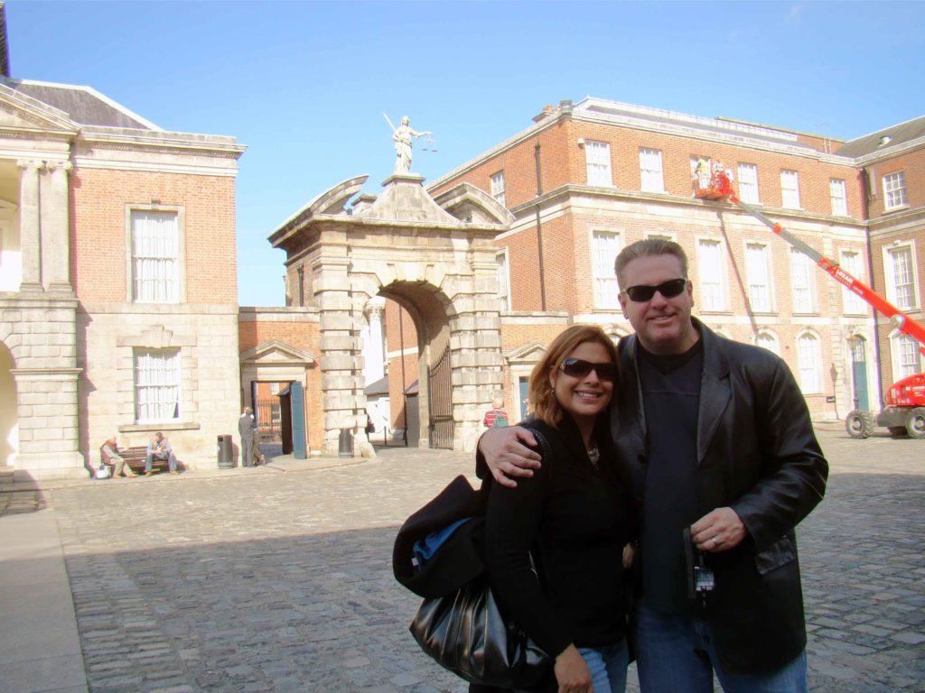Dublin Castle entrance