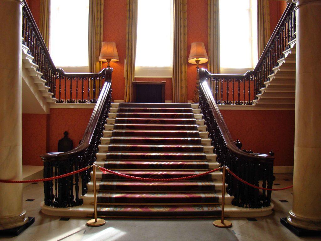 Dublin Castle Staircase