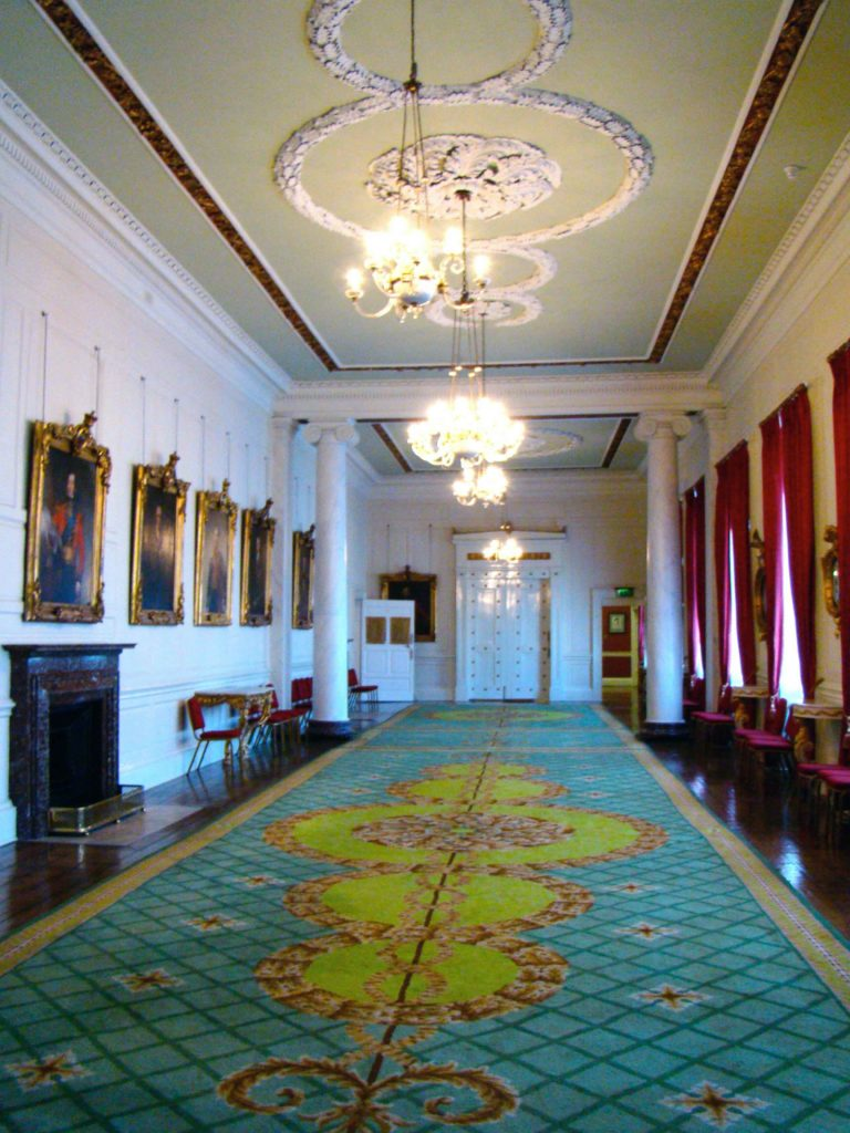 Dining room within Dublin Castle