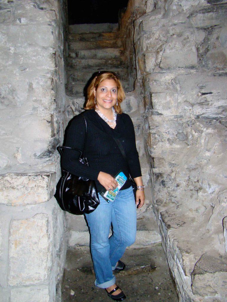 Stone Stairs near city wall of Dublin