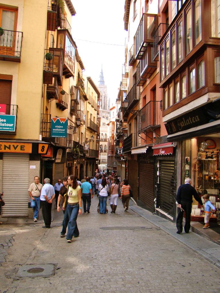 Toledo, Spain, Streets, Cathedral de Toledo