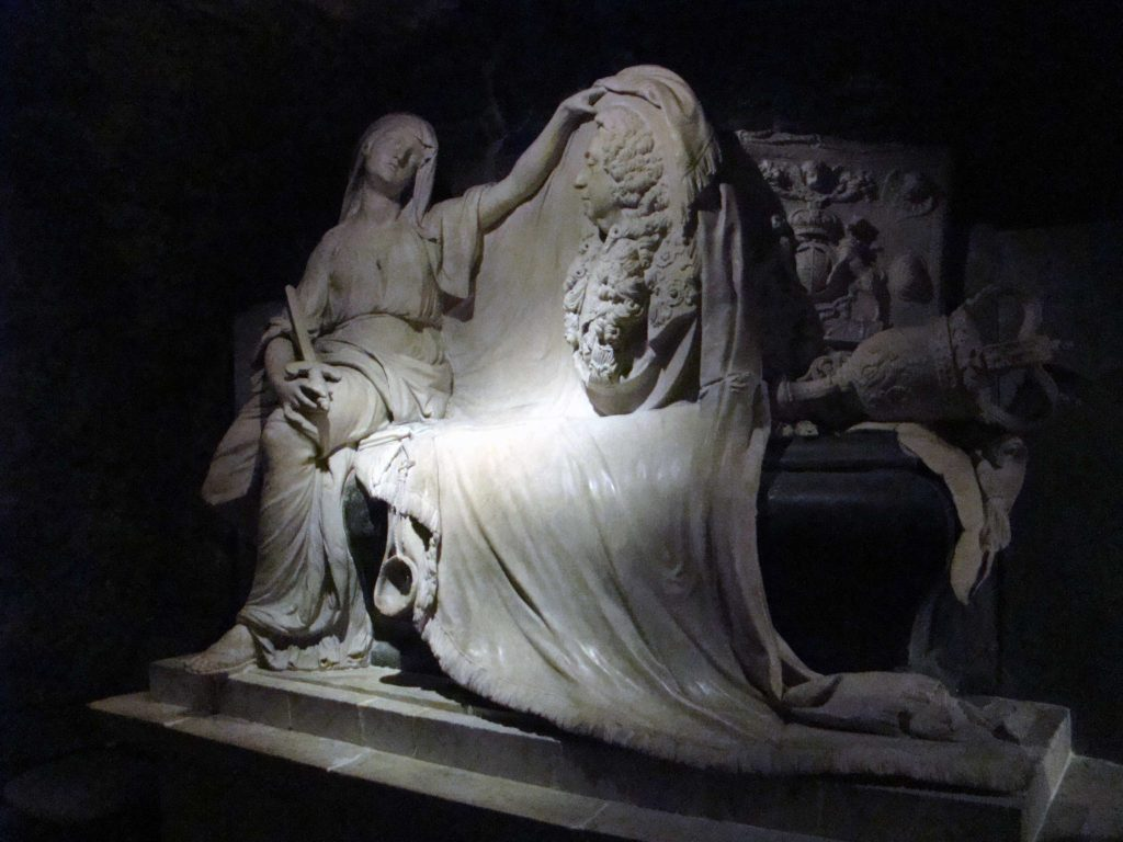 Statue in the Crypt of Christ Church Cathedral Dublin