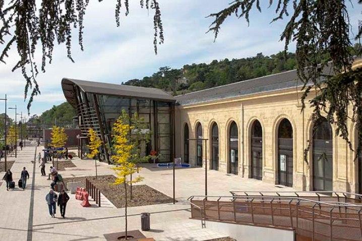 La gare d'Agen rénovée en 2013  ©photo Patrick Clermont