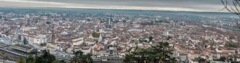 Vue Générale de la ville d'Agen © photo Patrick Clermont
