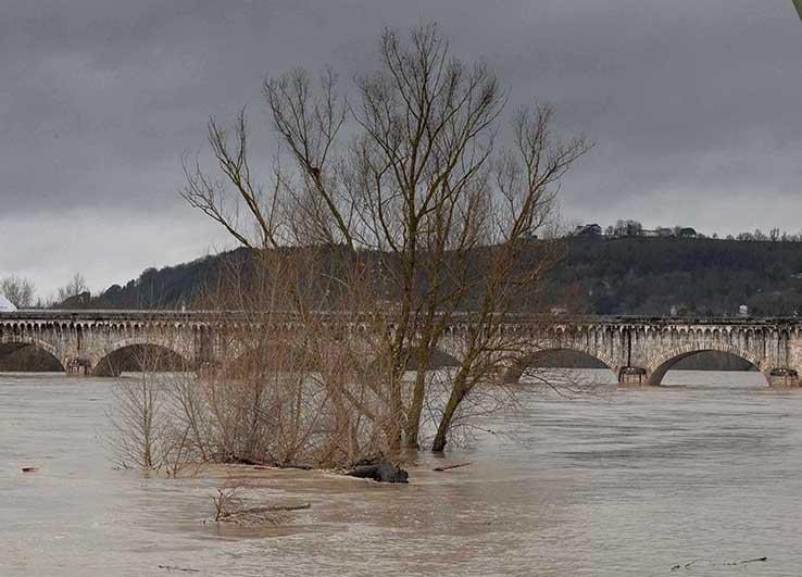 La Garonne est en colère ©photo Patrick Clermont