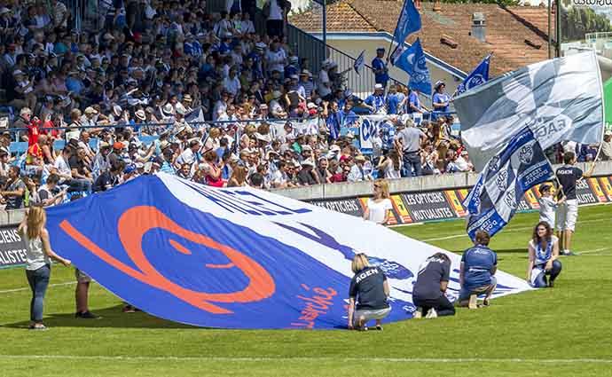 Agen-Perpignan-supporters avant le match ©photo Patrick Clermont