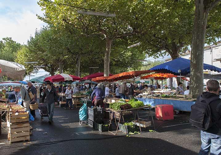 Le marché fermier  ©photo Patrick Clermont