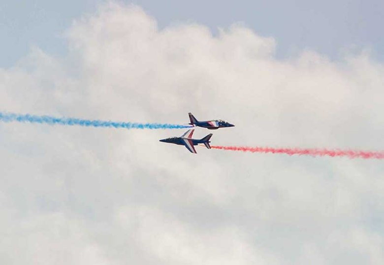 la Patrouille de France ©photo Patrick Clermont